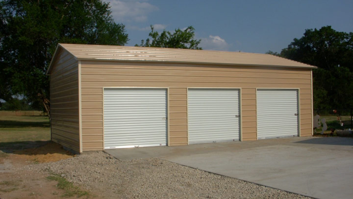 Boxed Eave Roof Garage