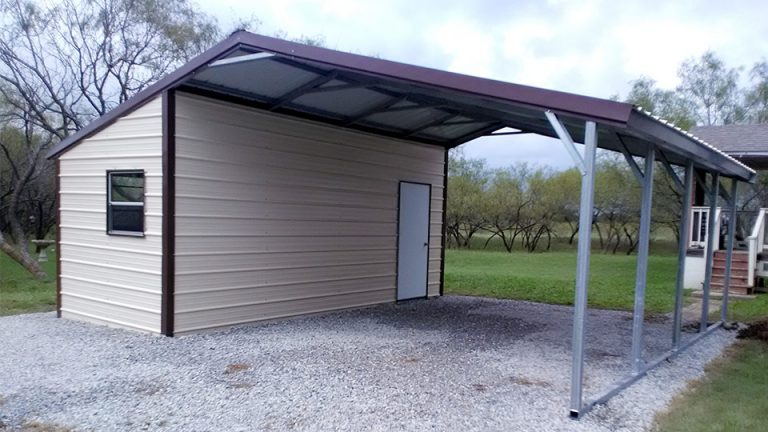 24x20x8 Vertical Roof Side Combo