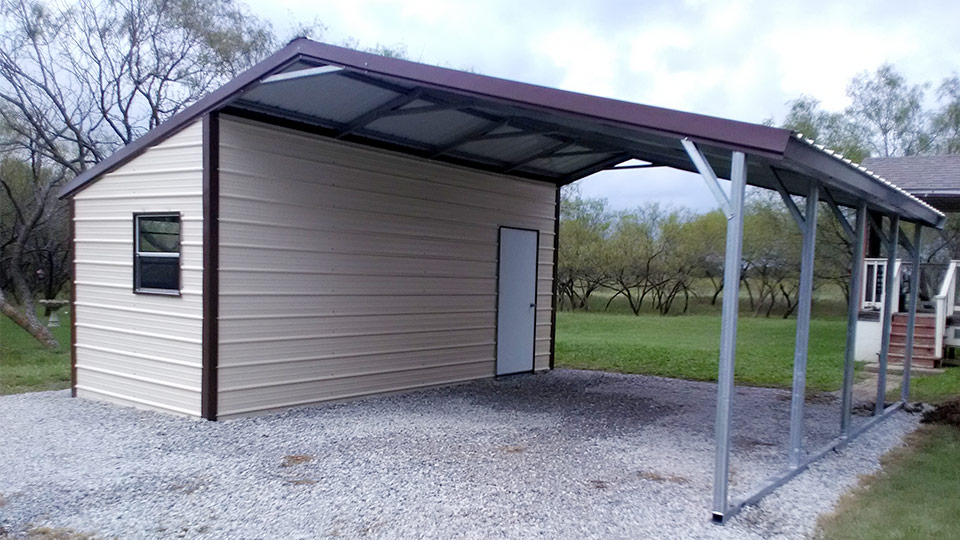 All Vertical Dual Entry Garage