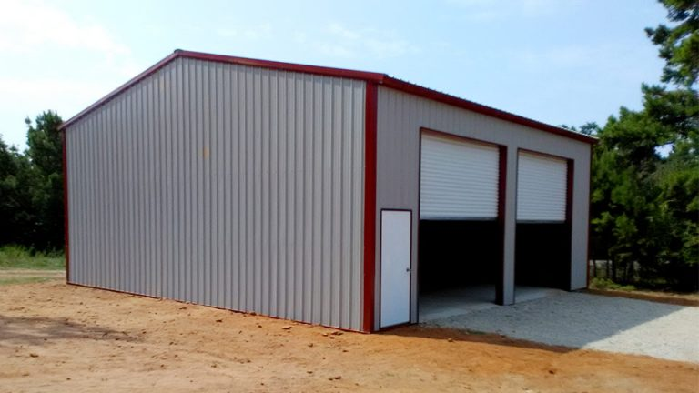 24x30x14 Vertical Roof Shop