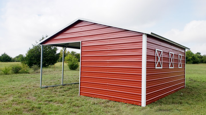 20x21x8 VR Loafing Shed